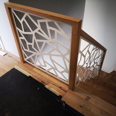 balustrada wycinana laserowo